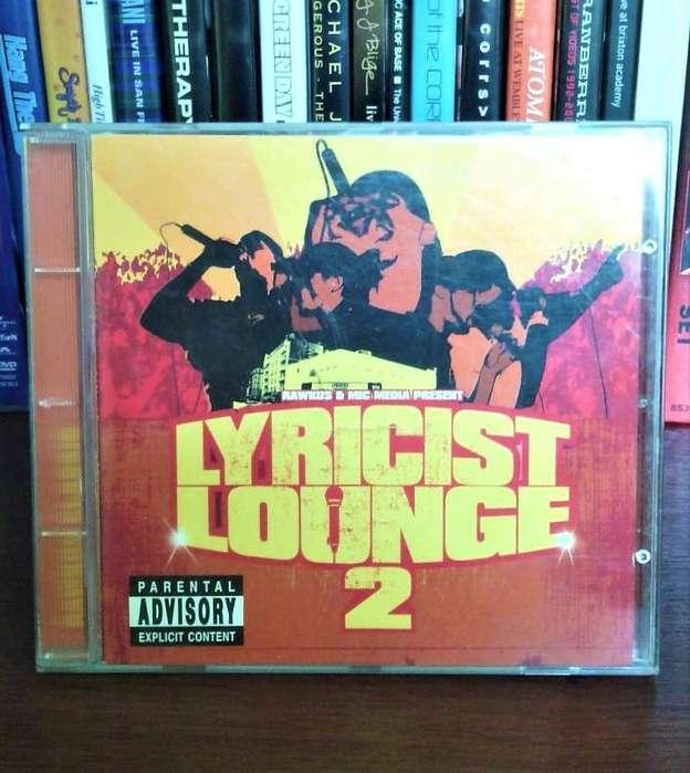 Lyricist Lounge / VOL.2 cd Rap