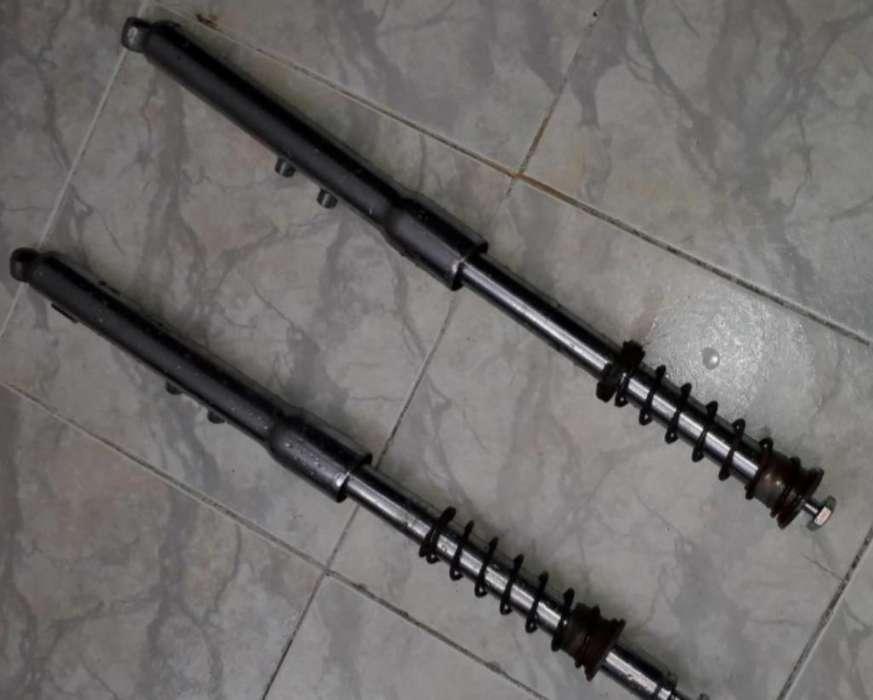 Barras Originales Y Campana Ax100