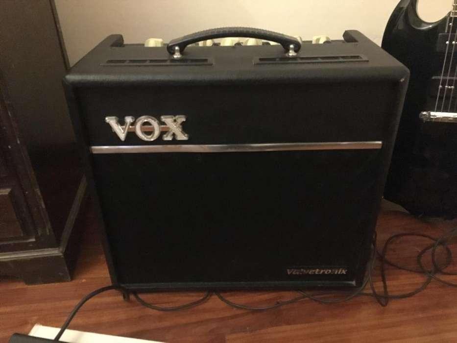 Amplificador prevalvular Vox Vt40 Y Footswitch Vfs5