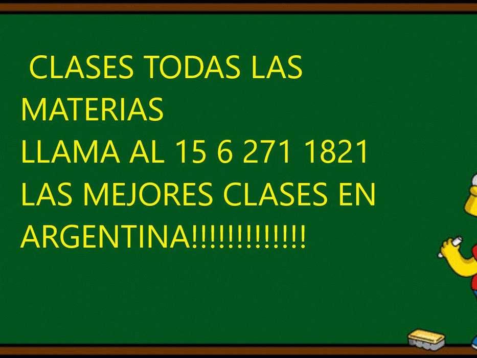 11 6 271 1821 clases todas las materias