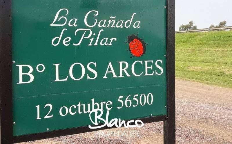 ESPECTACULAR UBICACIÓN ! GRAN LOTE CON ACCESO PRIVILEGIADO EN LA CAÑADA DE PILAR - LOS ARCES