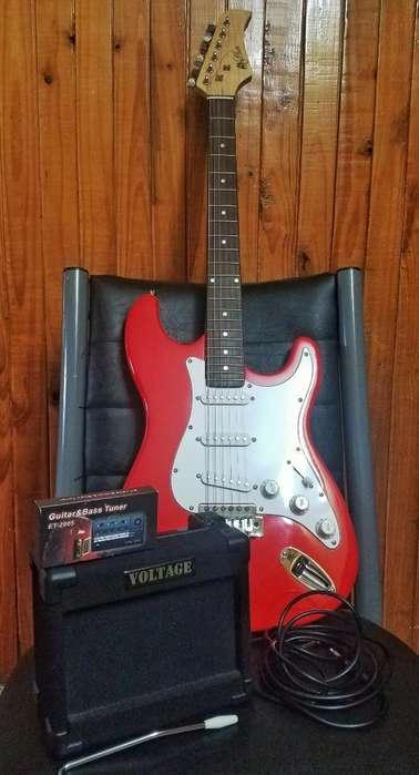 Combo Guitarra Eléctrica Stratocaster