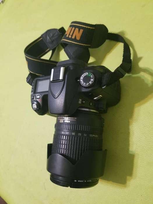 Nikon D80 Objetivo 18 105