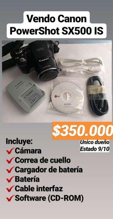 Cámara Digital Canon Powershot Sx500 Is