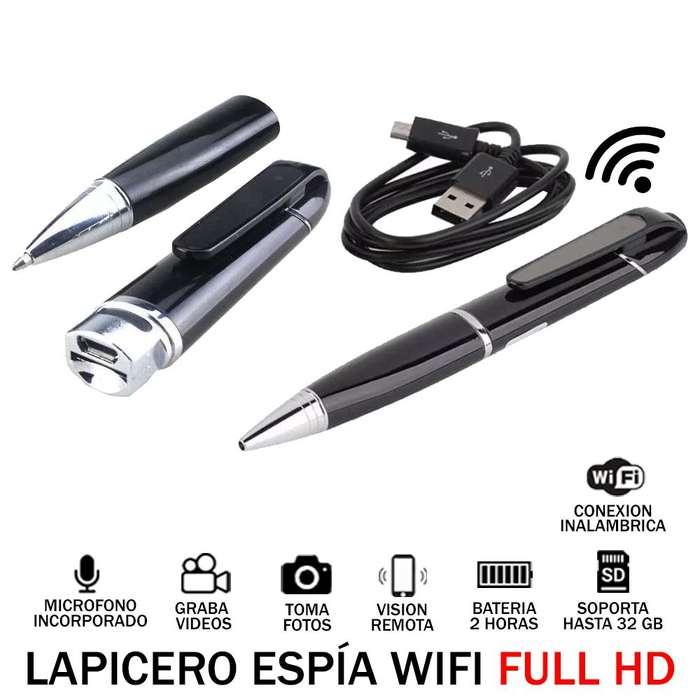 Lapicero Wifi Espia Full HD Audio Video Oculto