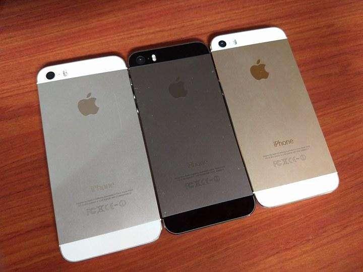 iPHONE 5S CARCASAS GOLDSILVERGRIS ORIGINALES USADAS EN BUEN ESTADO CON FLEX Y BOTONES NOOOO BATERIA