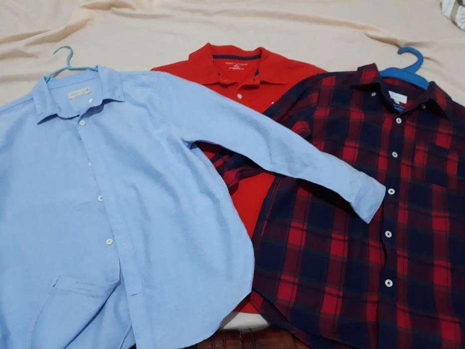 Camisas de Niños. Talla:10. Seminuevas