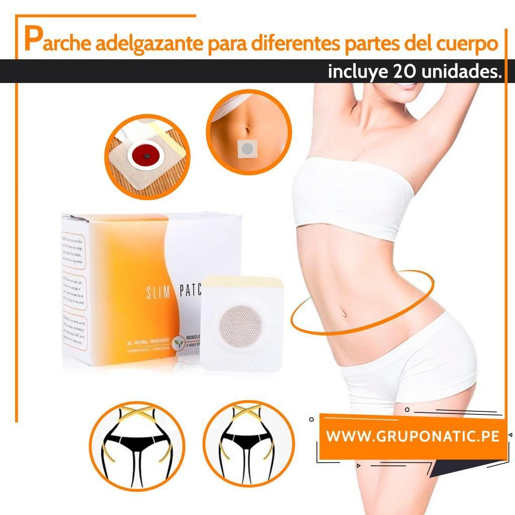 Parches Adelgazantes X 20 Reductor Slim Patch Gruponatic San Miguel Surquillo Independencia La Molina Whatsapp 941439370