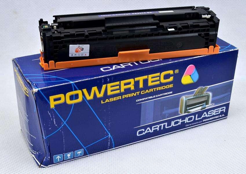 Toner para impresora láser HP 128ª.