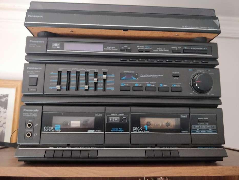 Panasonic Antiguo Y 3 Discos de Regalo