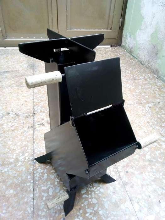 Estufa de Leña - Rocket Stove