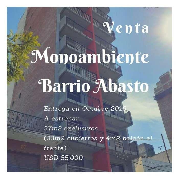 MONOAMBIENTE AMPLIO CON BALCON AL FRENTE / BARRIO ABASTO / IDEAL RENTA