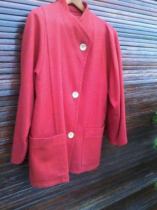 Saco de <strong>mujer</strong> color rojo