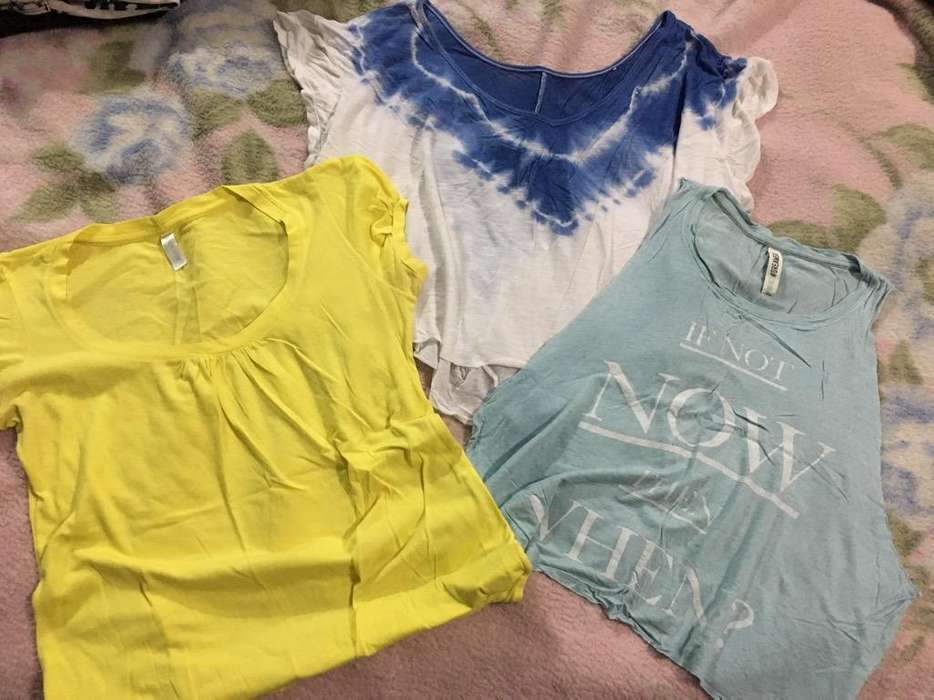 Combo Remeras Talle S