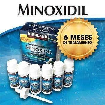 Minoxidil Caja de Tratamiento 6 Meses. Alopecia, barba, calvicie. INF 3156173396