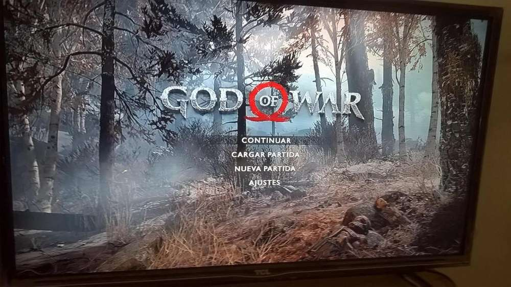 god of war ps4 andando impecable