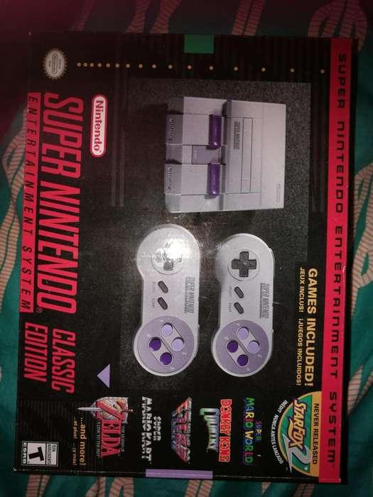 Mini Consola Snes Americana Nintendo Súper Nes Classic