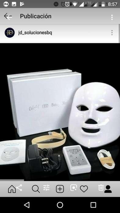 Mascarala Led Fototerapia