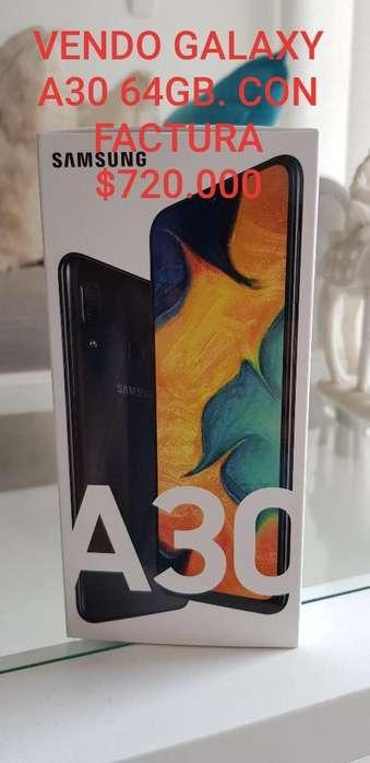 1 Samsung Galaxy A30 64gb Negro 2019