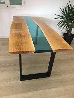 mesas de centro mesa en resina mesas rustico decoracion luxury