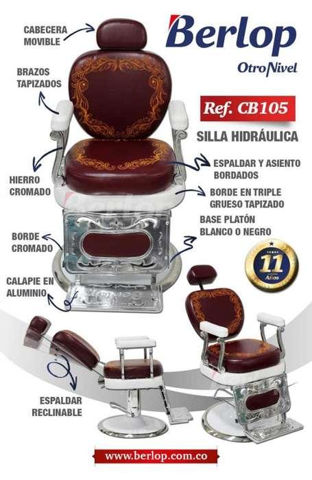 <strong>silla</strong> barbería CB105