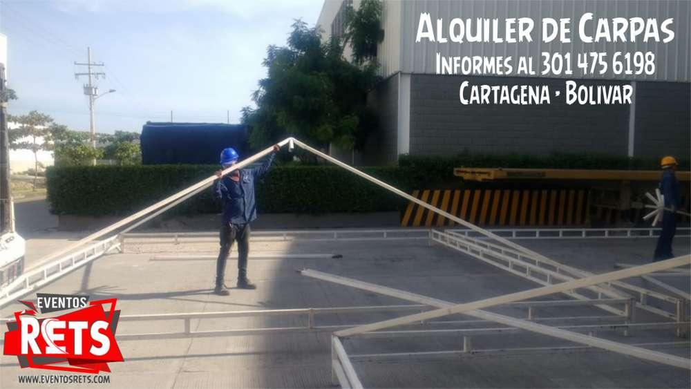 CARPAS 4X4 BLANCAS