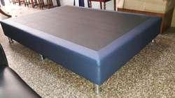 Cama Box Tarima de 1 Plaza Y Media