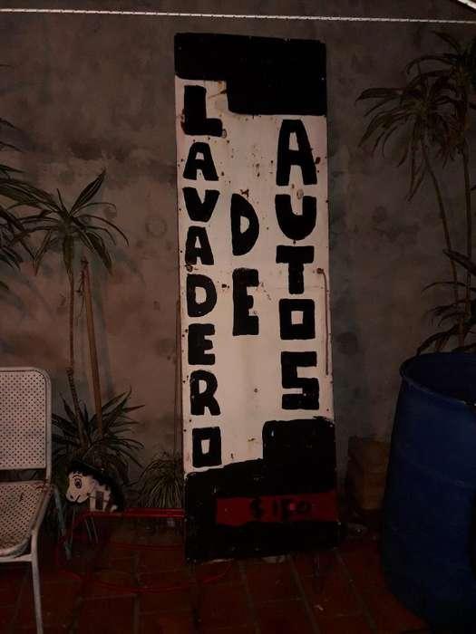 <strong>cartel</strong> para Lavadero O Pintar