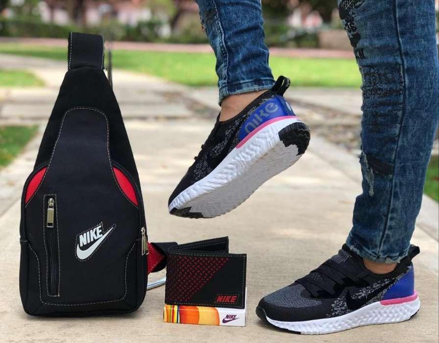 Tenis, Bolsos Y Billetera Nike