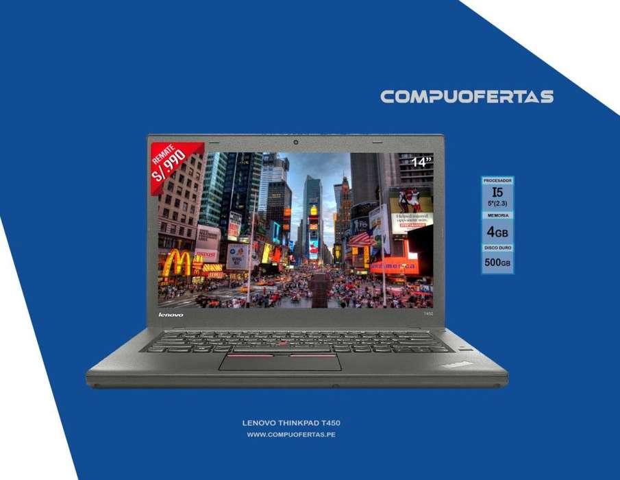 Laptop Lenovo Thinkpad T450 Core i5 5ta.Gen.