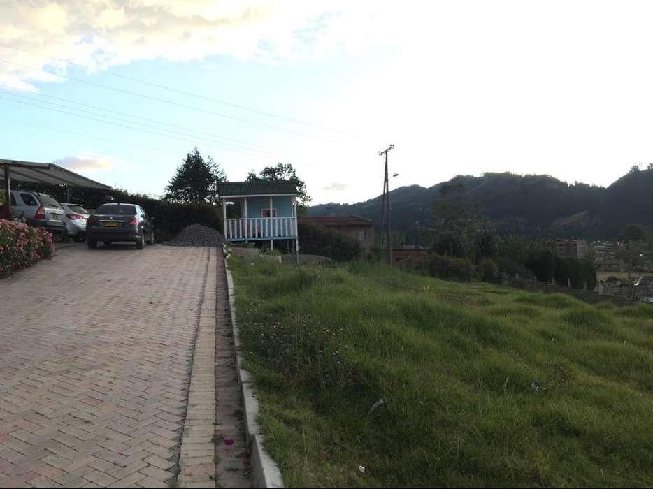 Vendo o Permuto excelente Lote 518 M2 en Monquira Sogamoso