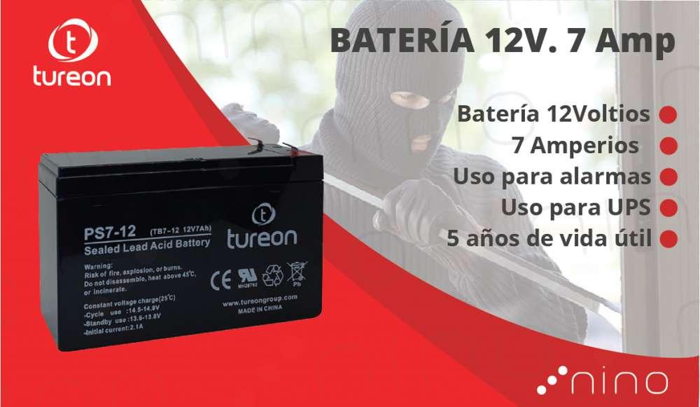 Bateria 12 voltios. 7 amperios