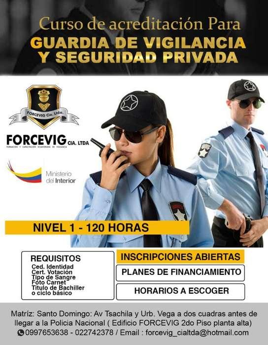 Formación de Guardias de Vigilancia