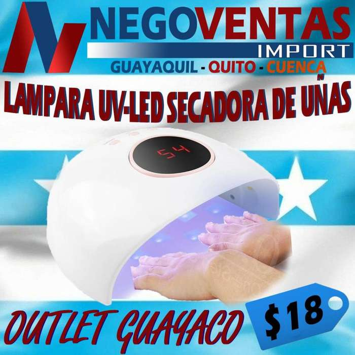 LAMPARA UV-LED SECADORA DE UÑAS