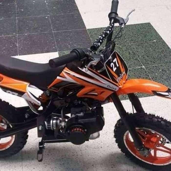 Motos para Niños Motor 50 Cc Gasolina