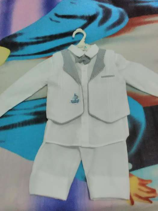 Vestido de Bautizo para Niño de 1,2