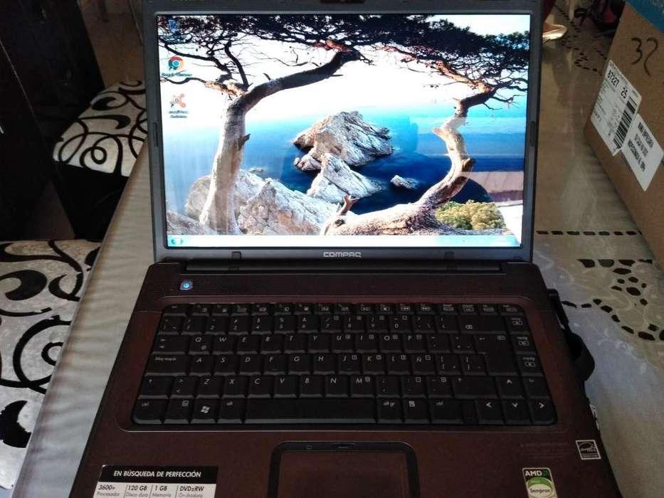 Ganga Portatil Compaq Hp F700 con Bater