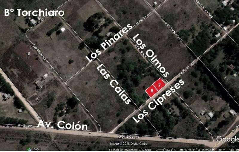 Terreno en venta , Los Cipreses, Bº Torchiaro, Marcos Paz, Cod.1146