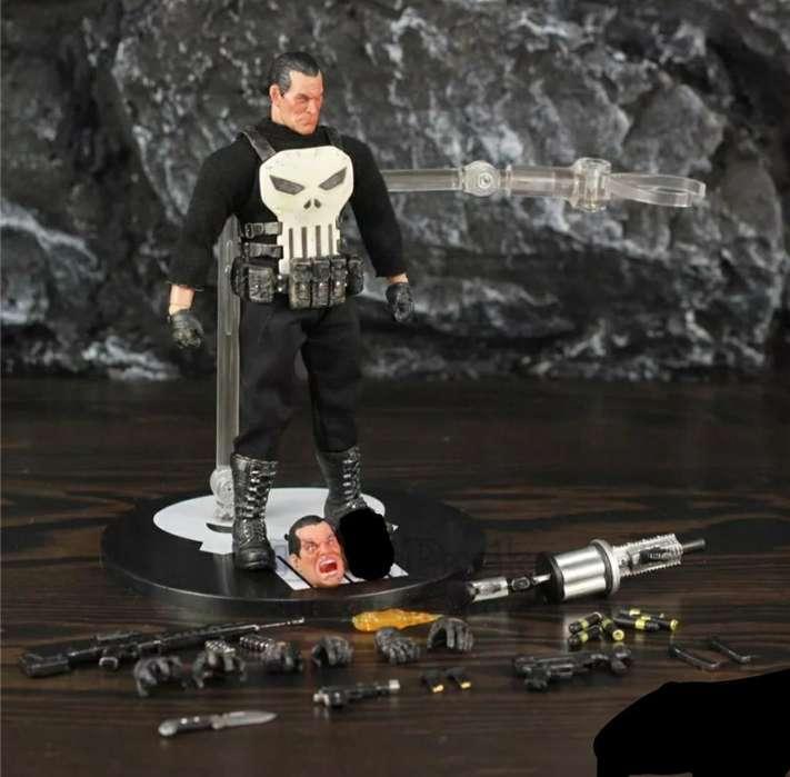 Figura Muñeco Marvel Mezco Punisher