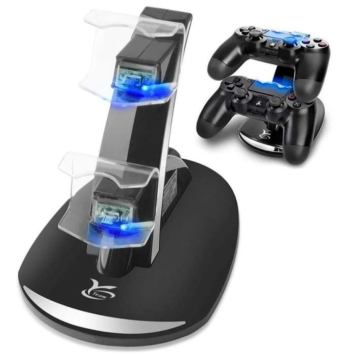 Cargador Mando Ps4 Slim Play Station Dual Shock 4 Charger Pro