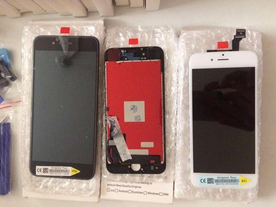 PANTALLA IPHONE 6, 6s, 6p, 6sp, 7p, 8p importador precios unicos