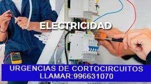 ELECTRICISTA A DOMICILIO LAS 24H. DE AREQUIPA.C:996631070,TV CABLE,TIMBRES,MEDIDORES,FALLAS ELÉCTRICAS,CABLEADOS NUEVOS