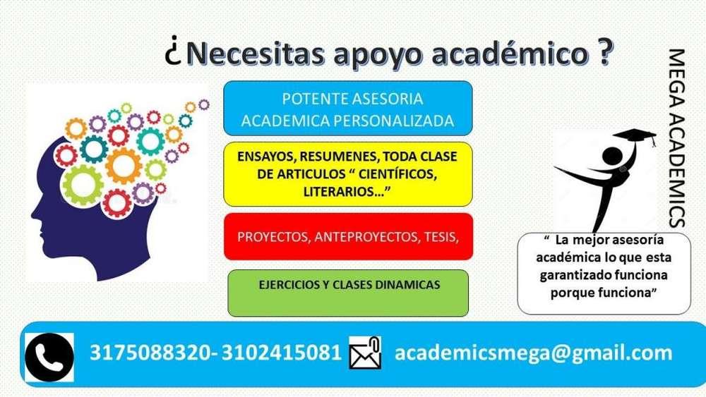 Asesoría académica personalizada