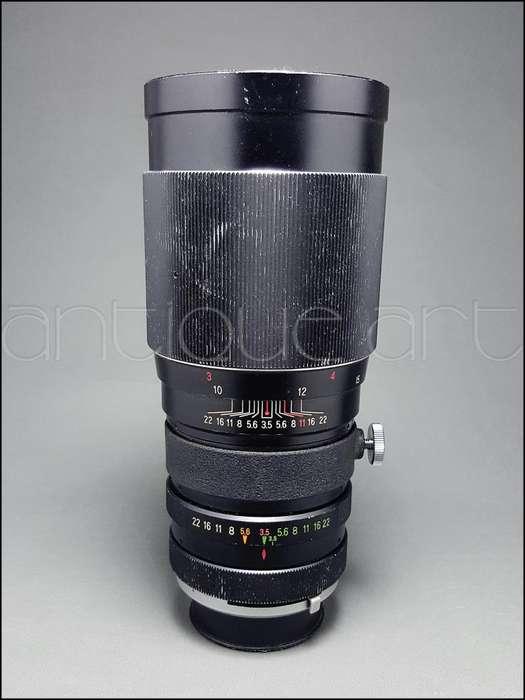 A64 Lente 200mm Vivitar Minolta Md 3.5 Sony Nikon Lumix