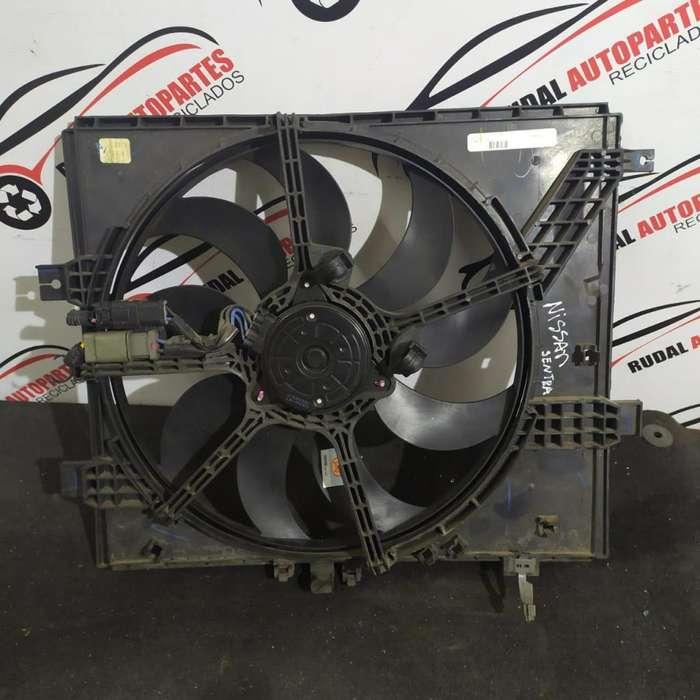 Electro Ventilador Nissan Note 7600 Oblea:03011691
