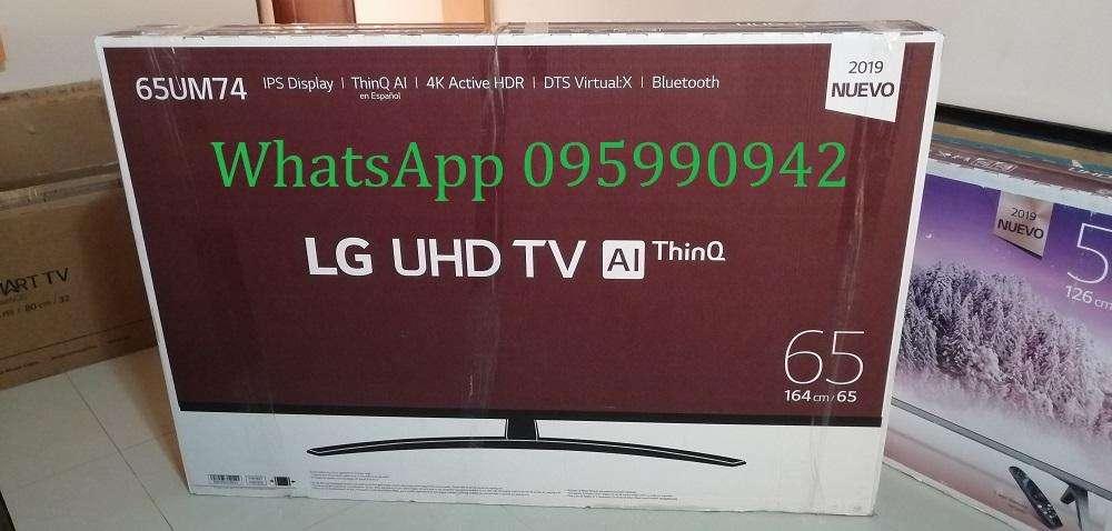 LG Smart TV de 65 pulgadas 4K Ultra HDR bluetooth 2019