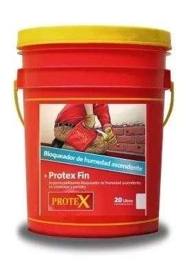 PROTEX FIN Balde x 20 lts - Impermeabilizante Humedad Ascendente En Cimientos