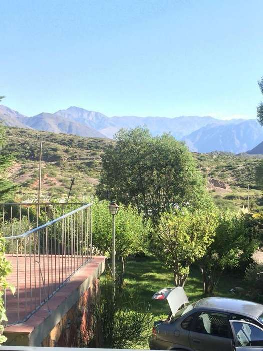 Cabaña para 6 en la montaña Mendocina.
