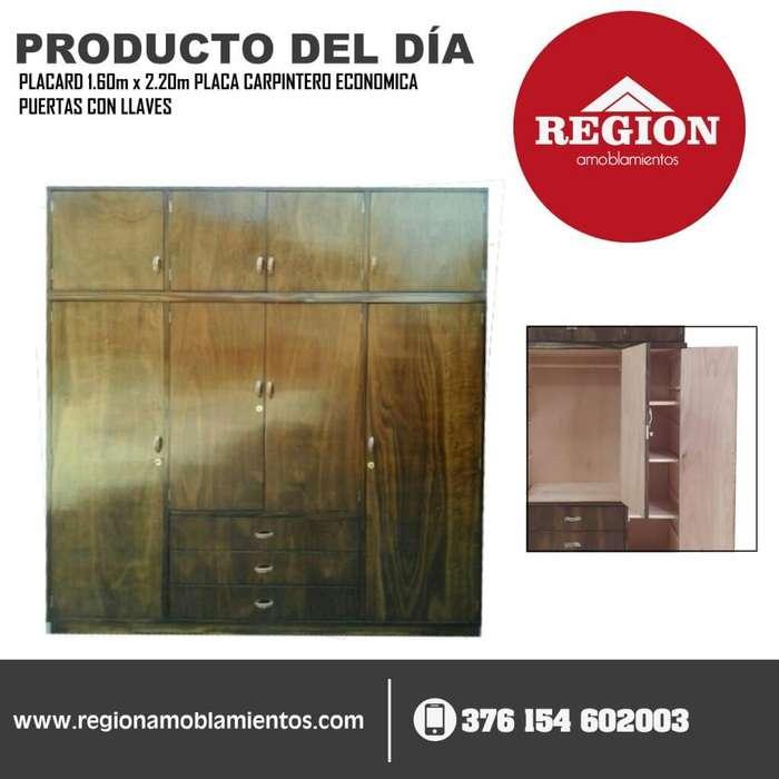Ropero Placard 1.60m