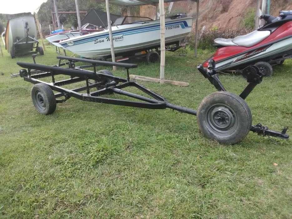 vendo trailer para bote 16 a 17 pies